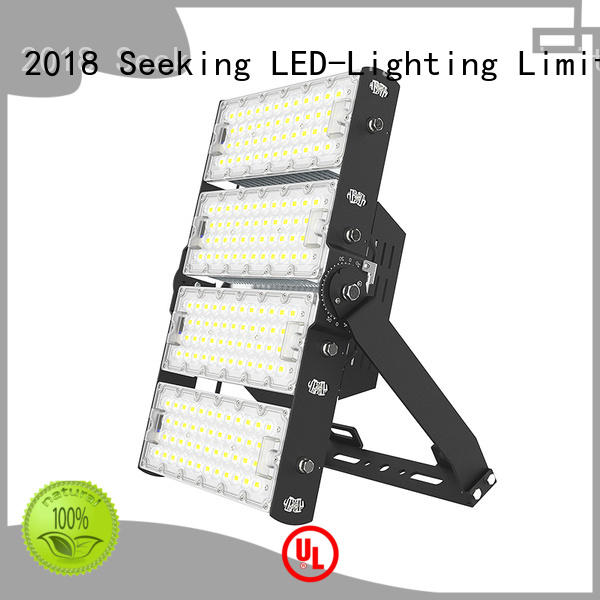 efficient dimmable led flood lights industrial with a clear scale table for field lighting