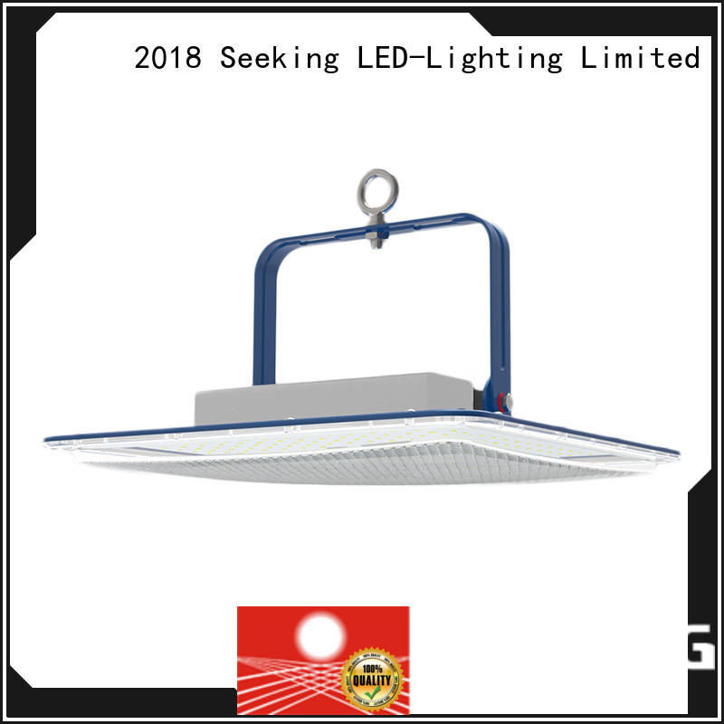 SEEKING design high bay led lighting with longer lifespan for factories