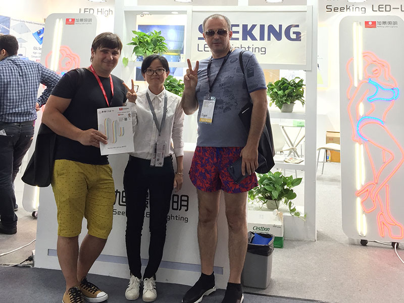 news-2018-June-Gangzhou Iternational Lighting Exhibition-SEEKING-img-1