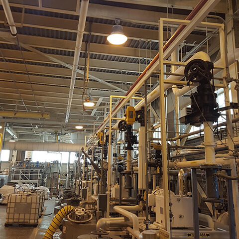 news-130W high bay replace 400W metal in US chemical plant-SEEKING-img