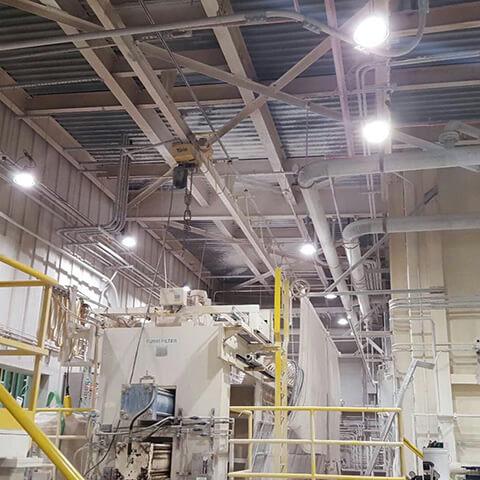 news-SEEKING-150W High Bays replace 400W metal halides in Kansas City,KS,the USA-img-1