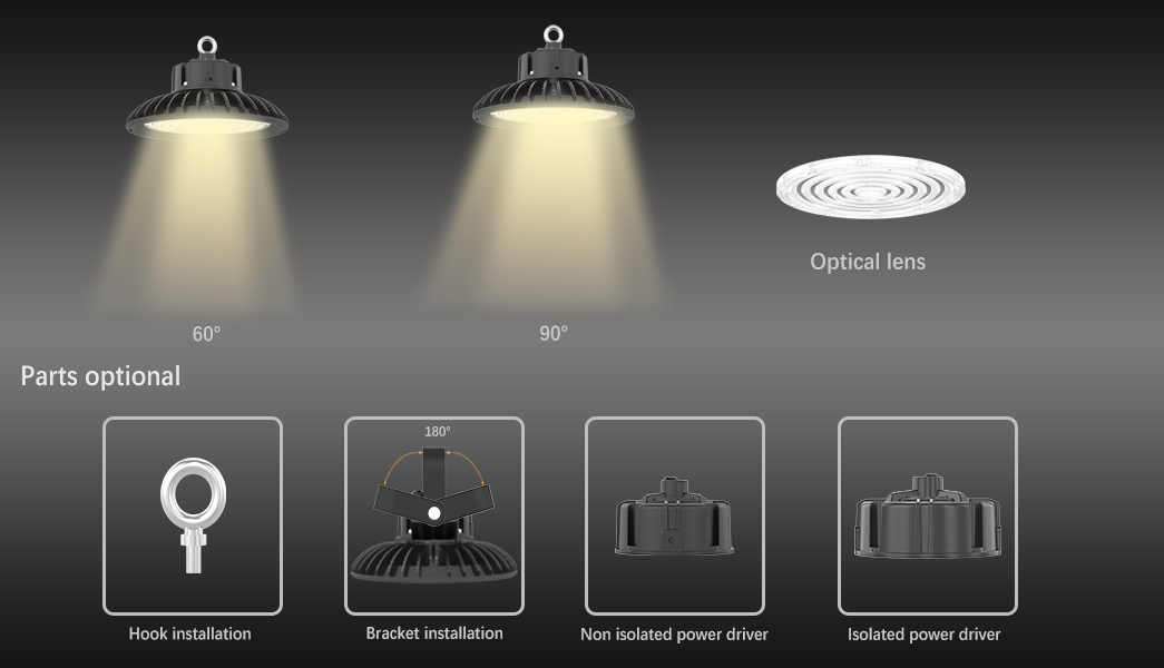 SEEKING Custom 400w led high bay lights factory for showrooms-4