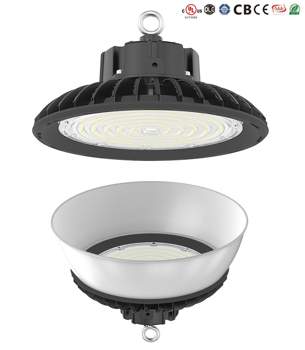 online led high bay flat with lower maintenance cost for warehouses-1