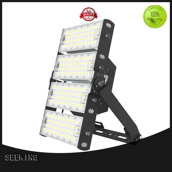 SEEKING seriesa outdoor led flood lights with a clear scale table for field lighting