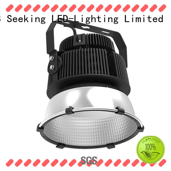 waterproof high bay led lighting reflectors with lower maintenance cost for warehouses