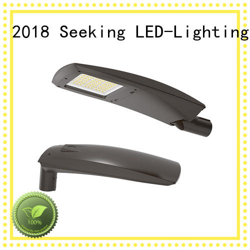 SEEKING light led street light casing for business for parking lots