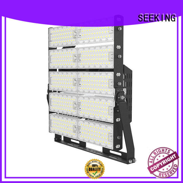 SEEKING rotatable commercial led flood lights with a clear scale table for lighting spectator