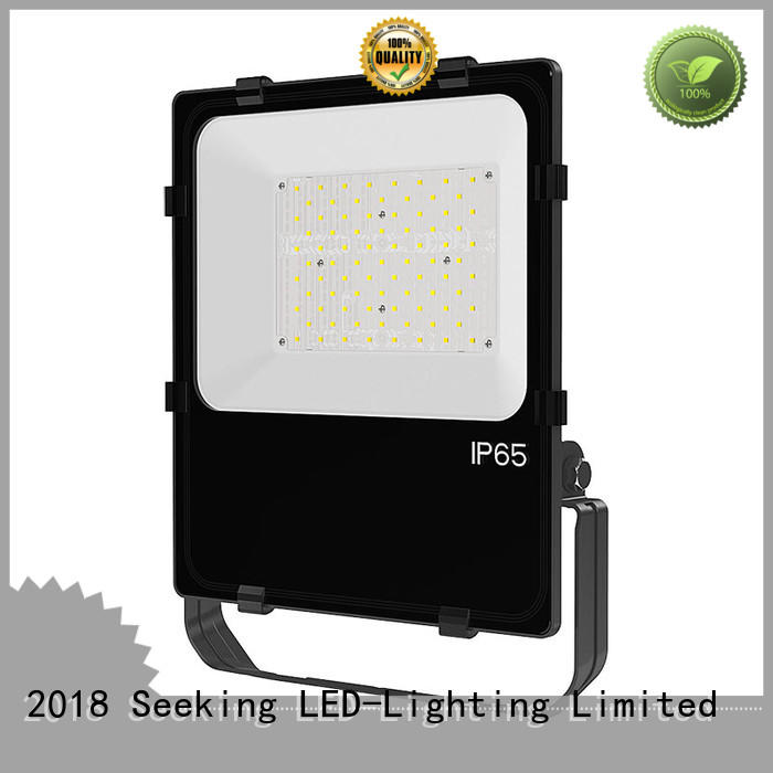 SEEKING rotatable flood light with a clear scale table for lighting spectator