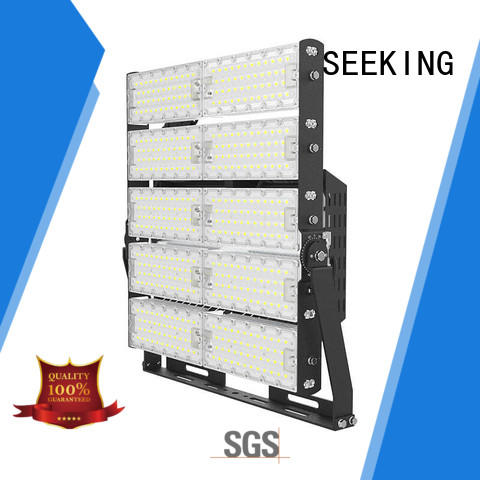 SEEKING rotatable flood light with a clear scale table for parking