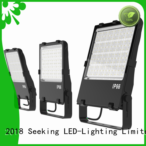 to meet the special lighting applications outdoor led lighting flood series for parking