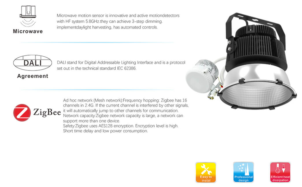 high quality high bay led lights design with longer lifespan for factories-12