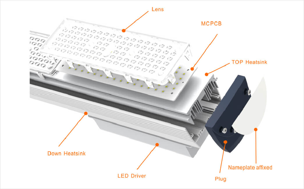 with higher efficiency commercial warehouse led lighting light Supply for factories-10