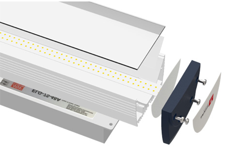 high quality high bay led lights canopy with longer lifespan for showrooms-6