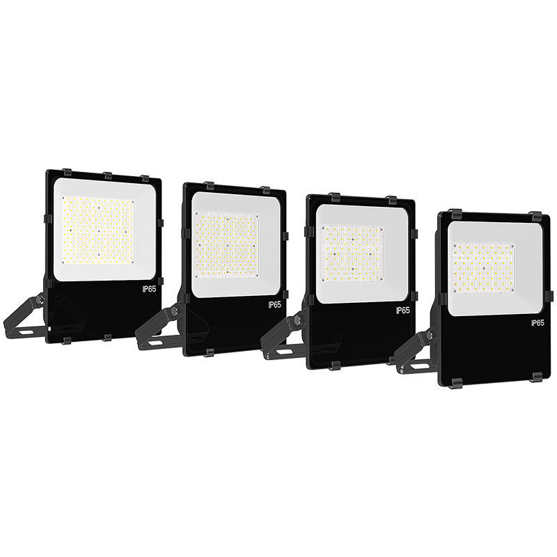 slim led stadium lights with angle adjustalbe for walkway areas