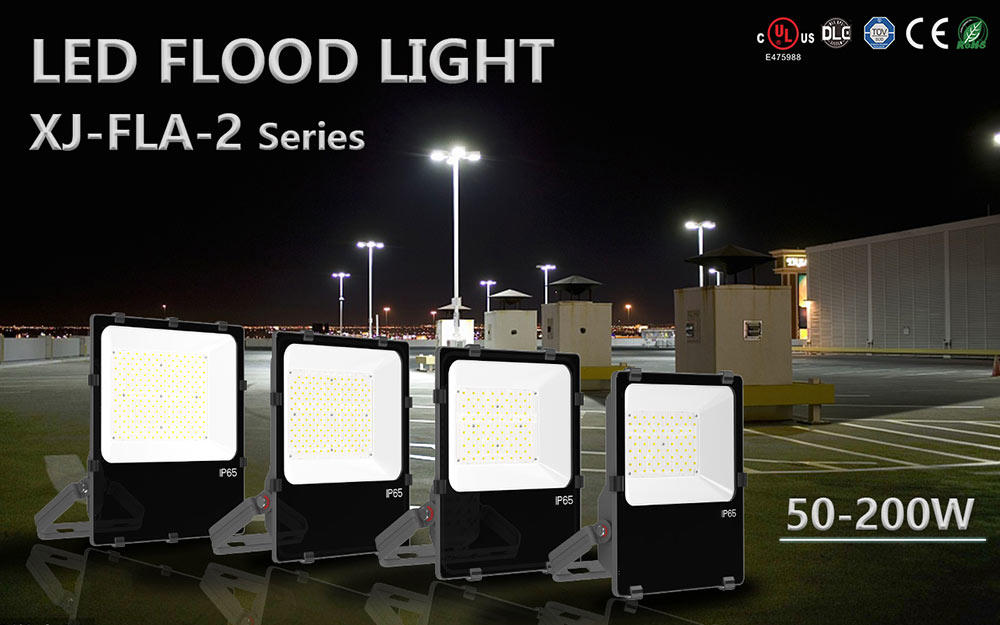 SEEKING series led floodlight to meet the special lighting applications for parking