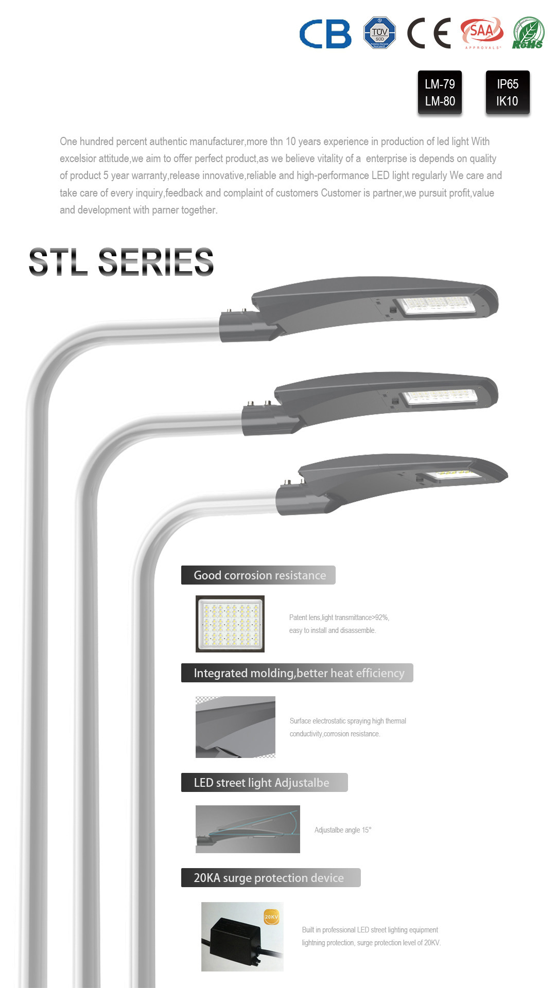 SEEKING series outdoor street light with higher efficiency for roadways-13