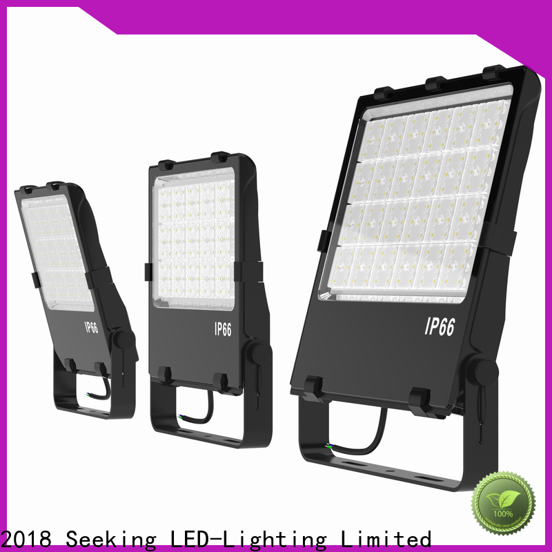 SEEKING to meet the special lighting applications 3 lamp outdoor floodlight factory for concession