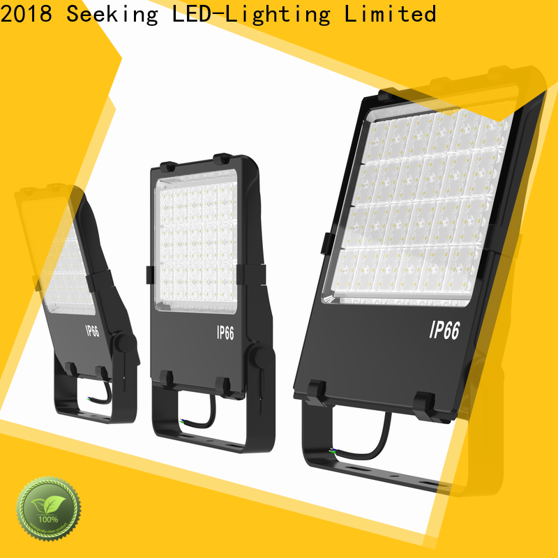 SEEKING efficient led flood lights for outside company for field lighting