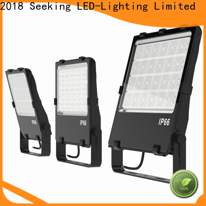 SEEKING stadium outdoor double flood light factory for lighting spectator