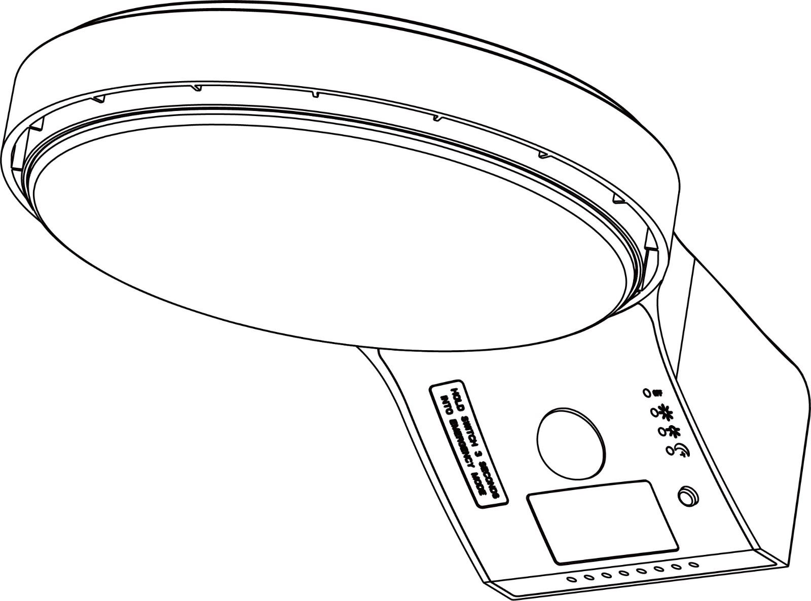 product-SEEKING-Solar LED Wall Light-img-1