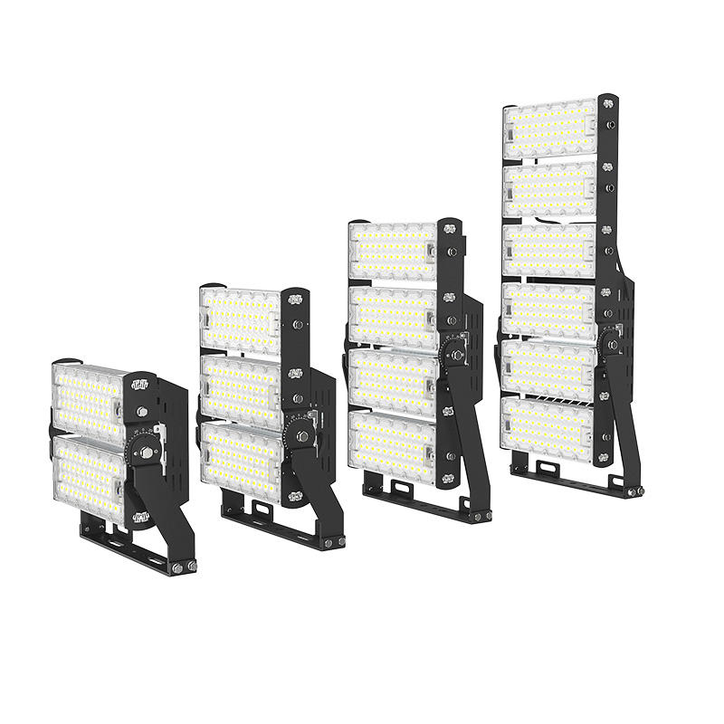 efficient led exterior floodlight seriesb factory for parking-3